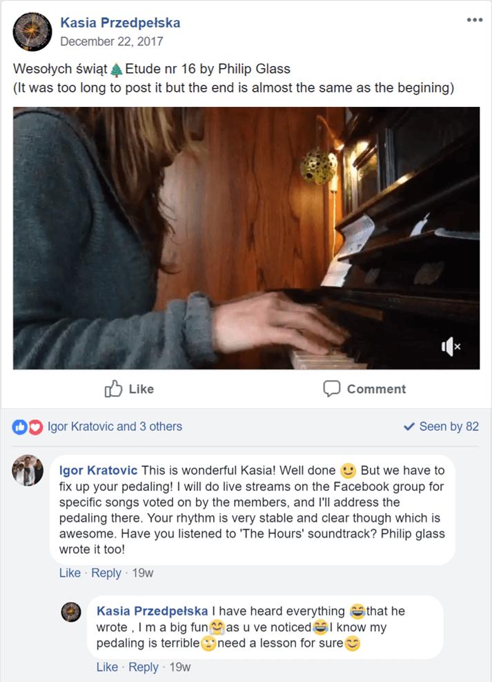 feedback of Megan